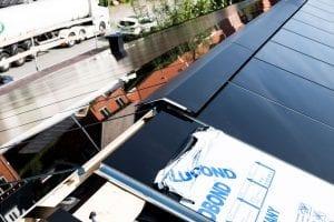 tagrygning på solcelletag