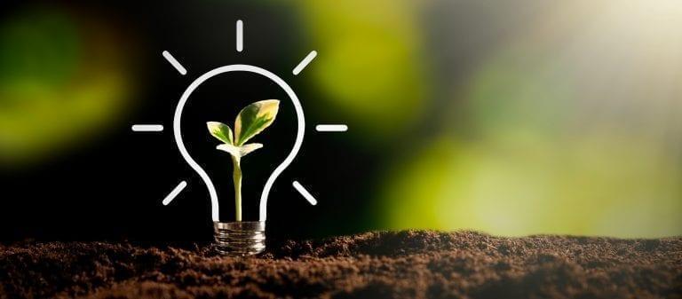 Die Idee der Nachhaltigkeit mit einem Ennogie-Solardach
